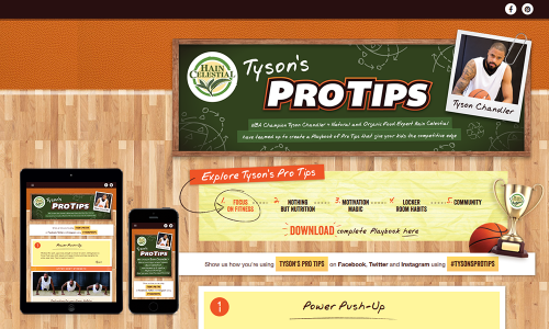 tyson's pro tips